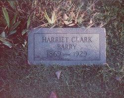 Harriet Ann <i>Clark</i> Barry