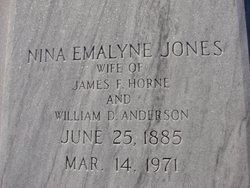 Nina Emalyne <i>Jones</i> Anderson