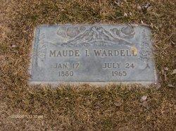 Maude I Wardell