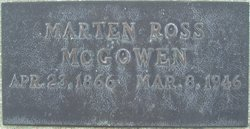 Martin Ross Ross McGowen