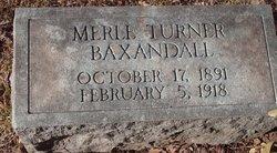 Merle <i>Turner</i> Baxandall