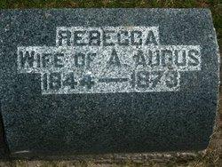 Rebecca <i>Bristow</i> Audus