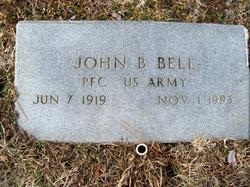 PFC John B Bell