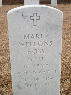 Marie <i>Wellons</i> Ross
