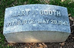 Mary F <i>McElwee</i> Booth