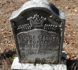 Lucile <i>George</i> Frohock