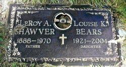 Louise K <i>Shawver</i> Bears