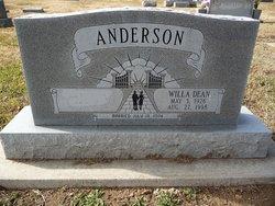 Willa Dean Anderson