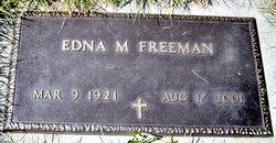 Edna M Freeman