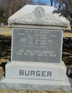 Ada Viola <i>Smith</i> Burger