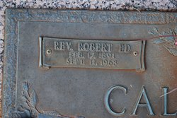 Rev Robert Ed Caldwell