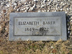 Elizabeth Frances <i>Beck</i> Baker