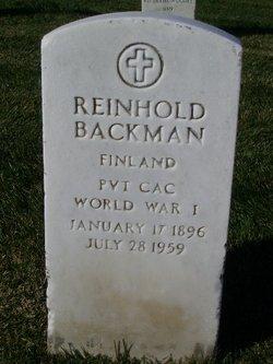 Reinhold Backman
