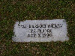 Nell <i>Barrow</i> Bailey