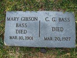 Mary <i>Gibson</i> Bass