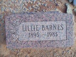 Lillie <i>Rosson</i> Barnes