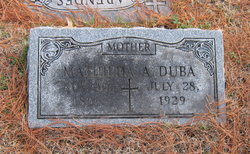 Mathilda Agnes <i>Feldt</i> Duba