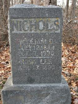 Rosie Lee <i>Benedict</i> Nichols