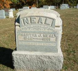 Martha J. <i>Eachus</i> Neal