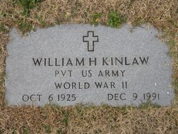 Pvt William Horace Kinlaw