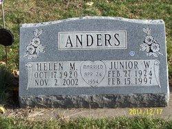 Helen M <i>Powell</i> Anders