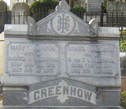 Mary Tinsley <i>Johnson</i> Greenhow