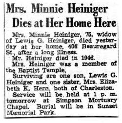 Minnie Heiniger