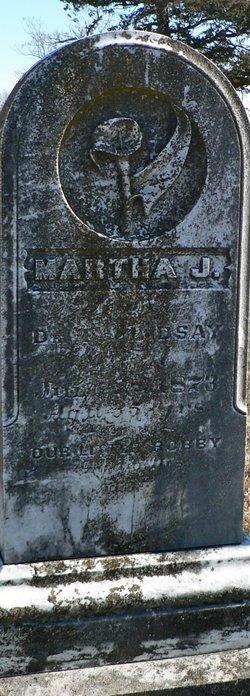 Martha J. <i>Smith</i> Lindsay