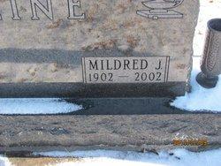Mildred J <i>Rutledge</i> Cline