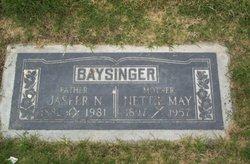 Jasper Newton Baysinger, Sr