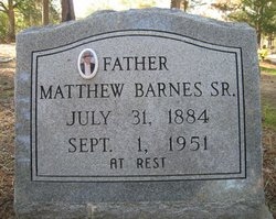 Matthew Barnes, Sr