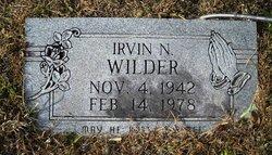 Irvin N Wilder