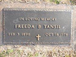 Freeda B Tansil
