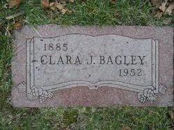 Clara J <i>Bennett</i> Bagley