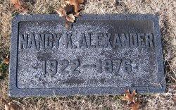 Nancy K Alexander