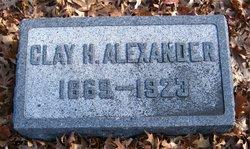 Clay H Alexander