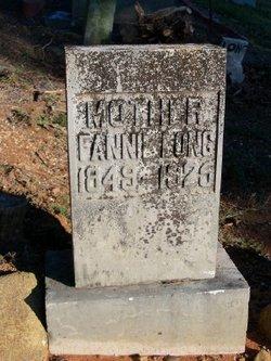 Frances Fannie <i>Hunter</i> Long