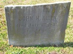 John H Allen