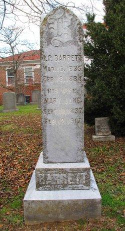 Richard P Barrett