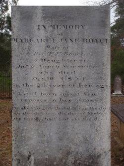 Margaret Jane <i>Simonton</i> Boyce