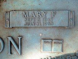 Mary Frances <i>Ashcraft</i> Tipton