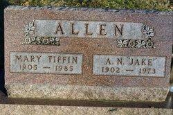Mary <i>Tiffin</i> Allen