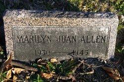 Marilyn Joan Allen