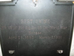 Bert Oral Swink