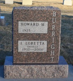 Loretta Ida <i>Shinkle</i> Burright