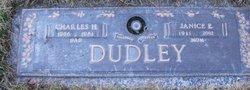 Janice Esther <i>Burkhardt</i> Dudley