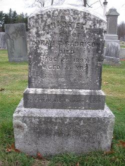 Mrs Harriet Elizabeth <i>Kent</i> Garrison