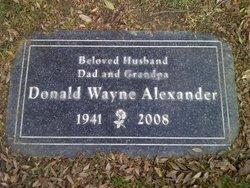 Donald Wayne Alexander