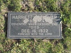 Harriett Oldham