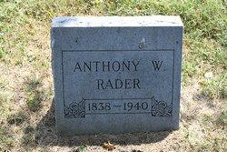 Anthony Wayne Rader